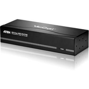Aten VanCryst VS1208T Video Extender - 1 Input Device - 9 Output Device - 1000 ft Range - 8 x Network (RJ-45) - 1 x VGA In