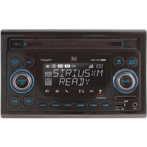 Dual X2DMA400 Car CD/MP3 Player - 240 W RMS - iPod/iPhone Compatible - Double DIN - CD-R - CD-DA, MP3, WMA - AM, FM - Secure Digital (SD) Card - USB - Auxiliary Input