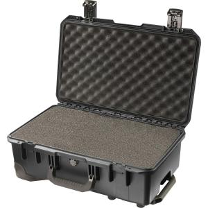 "Hardigg Storm Case Storm Trak iM2500 Shipping Case with Cubed Foam - Internal Dimensions: 7.20"" Height x 20.50"" Width x 11.50"" Depth - External Dimensions: 8.9"" Height x 21.7"" Width x 14.1"" Depth - Resin - Black"