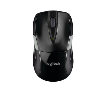 Logitech Wireless Mouse M525 - Optical - Wireless - Radio Frequency - Black, Gray - USB - Scroll Wheel - 3 Button(s) - Symmetrical
