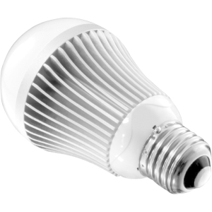 Aluratek 10W LED Light Bulb: Frosted, Warm White (75W Incandescent Bulb Replacement), Dimmable