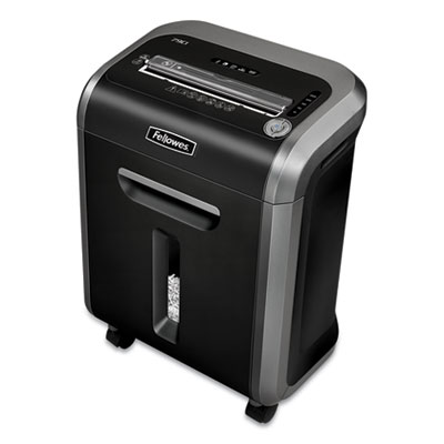 Fellowes Powershred 79Ci 100% Jam Proof Cross-Cut Shredder - Cross Cut - 14 Per Pass - 6 gal Waste Capacity