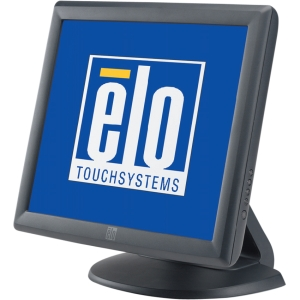 "Elo 1715L 17"" LCD Touchscreen Monitor - 5:4 - 25 ms - Projected Capacitive - 1280 x 1024 - Adjustable Display Angle - 16.7 Million Colors - 800:1 - 250 Nit - USB - VGA - Dark Gray"