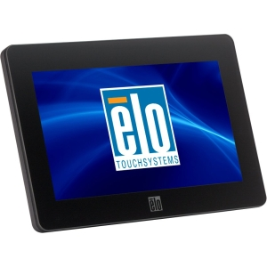 "Elo 0700L 7"" LCD Touchscreen Monitor - 16:9 - 25 ms - 5-wire Resistive - 800 x 480 - 16.7 Million Colors - 500:1 - 200 Nit - USB - Black"