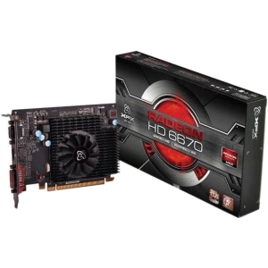 XFX Radeon HD 6670 Graphic Card - 2 GB - PCI Express 2.1 x16 - 1300 MHz Memory Clock - 2560 x 1600 - Fan Cooler - DirectX 11.0, OpenGL 4.1 - HDMI - DVI - VGA