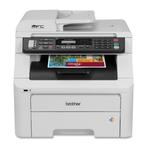 Brother MFC-9325CW Laser Multifunction Printer - Color - Plain Paper Print - Desktop - Printer, Scanner, Copier, Fax - 19 ppm Mono/19 ppm Color Print - 600 x 2400 dpi Print - 19 cpm Mono/19 cpm Color Copy - Manual Duplex Print - 250 sheets Input - Etherne