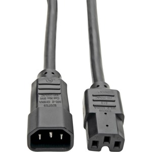 Tripp Lite P018-003 Power Interconnect Cord - 3 ft - IEC 60320 C14 - IEC 60320 C15 250 V AC - 15 A - Black