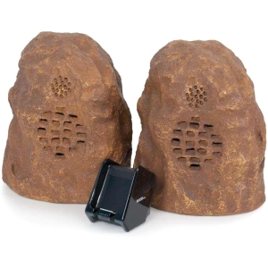 C2G Sandstone 2.0 Speaker System - 15 W RMS - Wireless Speaker(s) - 40 Hz - 12 kHz - 150 ft - iPod Supported