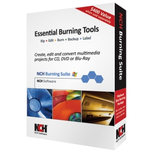 NCH Software Essential Burning Tools - CD/DVD Authoring - English, Spanish