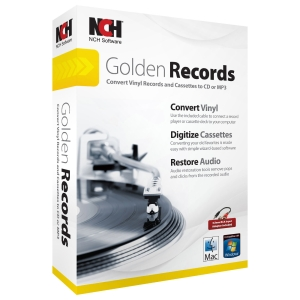 NCH Software Golden Records - Utility - DVD-ROM - PC, Mac - English, Spanish