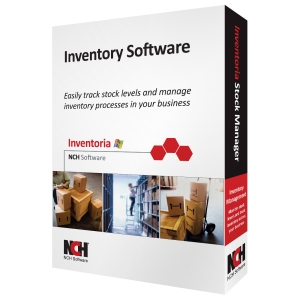 NCH Software Inventoria - Inventory Management Retail - CD-ROM - PC - English, Spanish