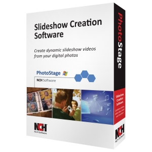 NCH Software PhotoStage - Video Editing - CD-ROM - PC - English, Spanish