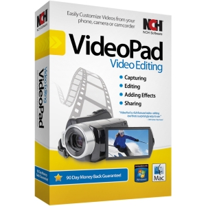 NCH Software VideoPad - Video Editing - CD-ROM - PC - English, Spanish