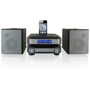 iLive IHP211B Mini Hi-Fi System - iPod Supported - CD Player - 20 Channel(s) - FM - CD-DA - Remote Control