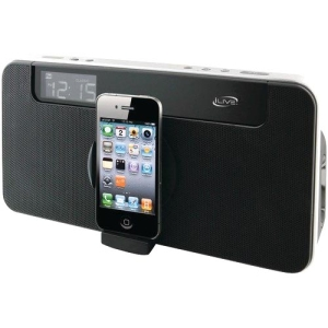 iLive ISP591B Speaker System - Black - iPod Supported