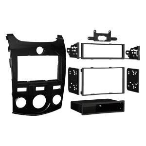 METRA Vehicle Mount for Radio - ABS Plastic - Gloss Black
