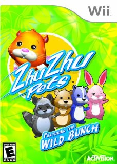 Zhu Zhu Pets Wild Bunch (Nintendo Wii)