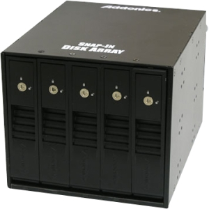Addonics AESN5DA35 DAS Hard Drive Array - 5 x Total Bays - SAS - 4U Internal