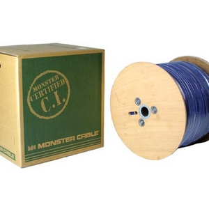 Monster Cable DS500-CL-EZ1000LB Cat.6 Telecom/Data Cable - 1000ft - Royal Blue