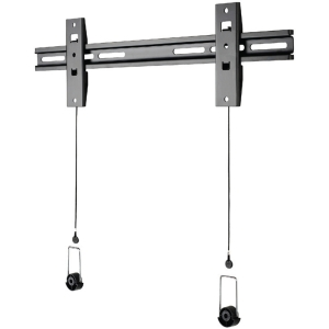 "OmniMount NCLP120F Wall Mount for Flat Panel Display - 32"" to 63"" Screen Support - 120.00 lb Load Capacity - Black"
