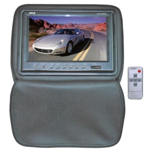 "Pyle PL91HRGR 9"" LCD Car Display - Composite Video - IR Transmitter - Headrest-mountable"