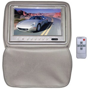 "Pyle PL91HRTN 9"" LCD Car Display - 1024 x 600 - IR Transmitter - Headrest-mountable"