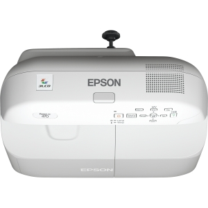 Epson PowerLite 470 LCD Projector - HDTV - 4:3 - 1.8 - SECAM, PAL, NTSC - 1024 x 768 - XGA - 3,000:1 - 2600 lm - HDMI - USB - VGA In - Ethernet - 287 W - 2 Year Warranty