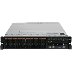 IBM System x 7147A3U 2U Rack Server - 1 x Intel Xeon E7-2830 2.13 GHz - 2 Processor Support - 8 GB Standard/512 GB Maximum RAM - Serial Attached SCSI (SAS) RAID Supported Controller - Gigabit Ethernet - RAID Level: 0, 1, 5, 10, 50