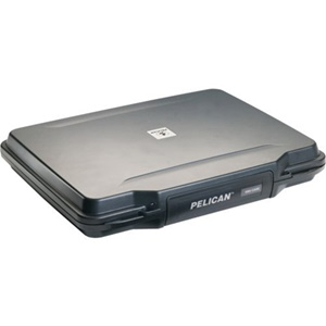 "Pelican HardBack 1085 Carrying Case for 14"" Notebook - Black - Crush Proof, Dust Proof, Watertight - Cycaloy"