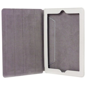 I/OMagic Carrying Case (Folio) for iPad - Magenta - Synthetic Leather, Polyurethane