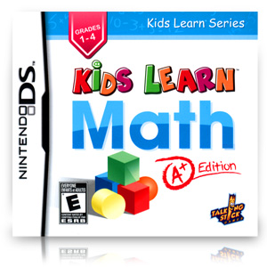 Kids Learn Math: A+ Edition (Nintendo DS)