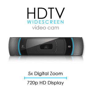 Logitech HDTV Widescreen Video Cam