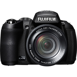 "Fujifilm FinePix HS25EXR 16 Megapixel Bridge Camera - Black - 3"" LCD - 30x Optical Zoom - Optical (IS) - 4608 x 3456 Image - 1920 x 1080 Video - HDMI - HD Movie Mode"