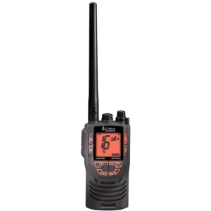Cobra HH330 Marine Radio - For Marine with Weather Disaster - VHF - 3 Weather / 16 Instant - Handheld