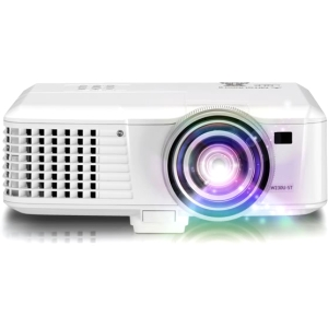 Mitsubishi EW331U-ST 3D Ready DLP Projector - 720p - HDTV - 16:10 - NTSC, PAL, SECAM - 1280 x 800 - WXGA - 2,700:1 - 3000 lm - HDMI - VGA In - Ethernet - 315 W - 3 Year Warranty
