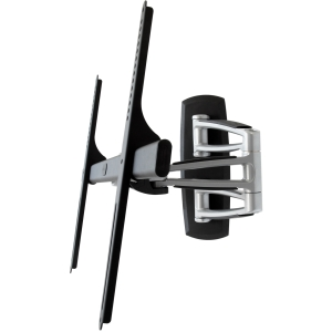 Atdec Telehook TH-3270-UFM universal VESA full motion TV mount silver with black - 42&quot; to 70&quot; Screen Support - 143.00 lb Load Capacity - Steel, Aluminum, Plastic - Black