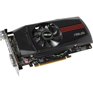Asus HD7770-DC-1GD5 Radeon HD 7770 Graphic Card - 1020 MHz Core - 1 GB GDDR5 SDRAM - PCI Express 3.0 x16 - 4600 MHz Memory Clock - 2560 x 1600 - CrossFireX - Fan Cooler - DirectX 11.0, OpenGL 4.2 - HDMI - DisplayPort - DVI