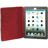 Samsonite Carrying Case (Portfolio) for iPad - Black, Red - Perforated