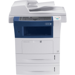 Xerox WorkCentre 3550 Laser Multifunction Printer - Monochrome - Plain Paper Print - Desktop - Printer, Scanner, Copier, Fax - 35 ppm Mono Print - 1200 x 1200 dpi Print - 35 cpm Mono Copy - 300 dpi Optical Scan - Automatic Duplex Print - 1050 sheets Input
