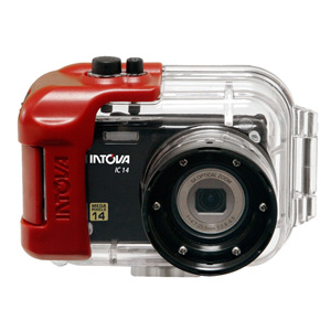 Intova IC14 14 Megapixel Compact Camera with 180-Feet Waterproof Housing