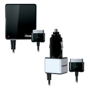 i.Sound Wall & Car Charger Pro for iPad, iPhone and iPod