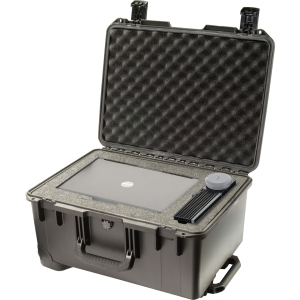 "Pelican Storm Case iM2620 without Foam - Internal Dimensions: 14"" Width x 10"" Depth x 20"" Length - External Dimensions: 16.0"" Width x 10.6"" Depth x 21.2"" Length - HPX Resin - Black"