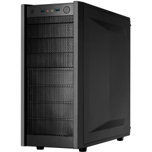 Antec One System Cabinet - Tower - Black - 10 x Bay - 2 x Fan
