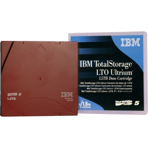 IBM LTO Ultrium 5 Data Cartridge - LTO Ultrium - LTO-5 - 1.50 TB (Native) / 3 TB (Compressed) - 5 Pack