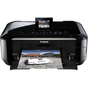Canon PIXMA MG6220 Inkjet Multifunction Printer - Color - Photo/Disc Print - Desktop - Printer, Copier, Scanner - 12.5 ipm Mono/9.3 ipm Color Print (ISO) - 20 Second Photo - 9600 x 2400 dpi Print LCD - 4800 dpi Optical Scan - Automatic Duplex Print - 300