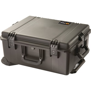 "Hardigg Storm Case Storm Trak iM2720 Shipping Box with Cubed Foam - Internal Dimensions: 22"" Height x 17"" Width x 10"" Depth - External Dimensions: 24.6"" Height x 19.7"" Width x 11.7"" Depth - HPX Resin - Black"