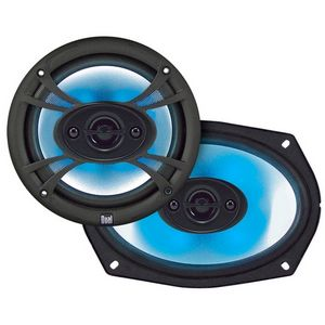 "Dual SBX-694 Speaker - 50 W RMS - 4-way - 90 Hz to 20 kHz - 6"" x 9"""