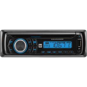 Dual XD1225 Car CD/MP3 Player - 28 W RMS - Single DIN - LCD Display - CD-RW - CD-DA - AM, FM - 18, 12 x FM, AM Preset - USB - Auxiliary Input - Detachable Front Panel