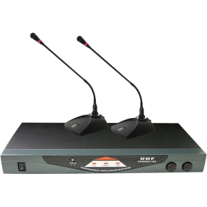 PylePro PDWM2150 Wireless Microphone System - 210 MHz to 270 MHz System Frequency