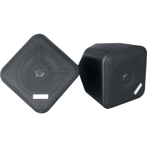 PyleHome PDWP5BK 150 W RMS Speaker - 2-way - Black - 30 Hz to 22 kHz - 4 Ohm - Wall Mountable